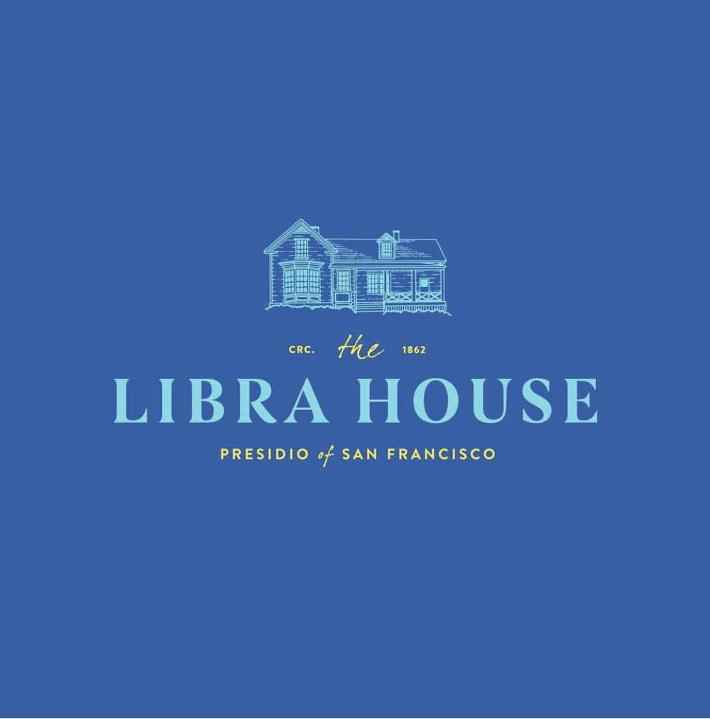 Libra House Logo Design - San Francisco, California    Collaborative design with     Spade+Anchor Creative