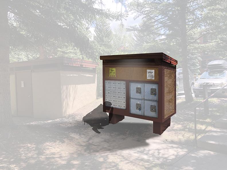 Multi-Family Mail Kiosk Conceptual Design - Aspen, Colorado