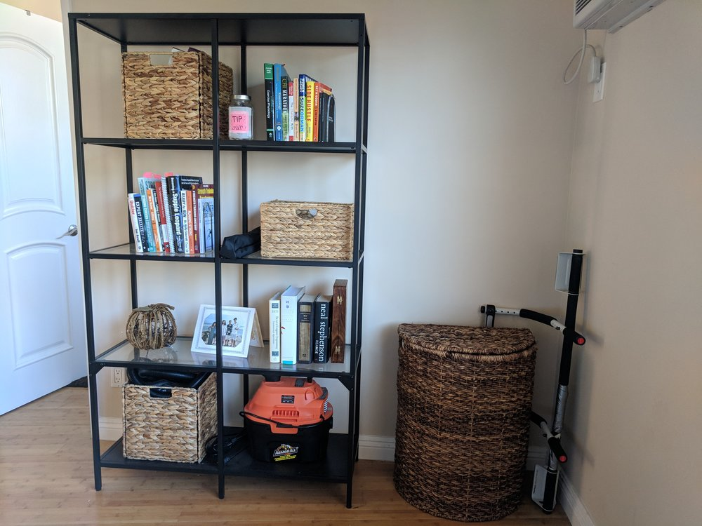 My room bookshelf