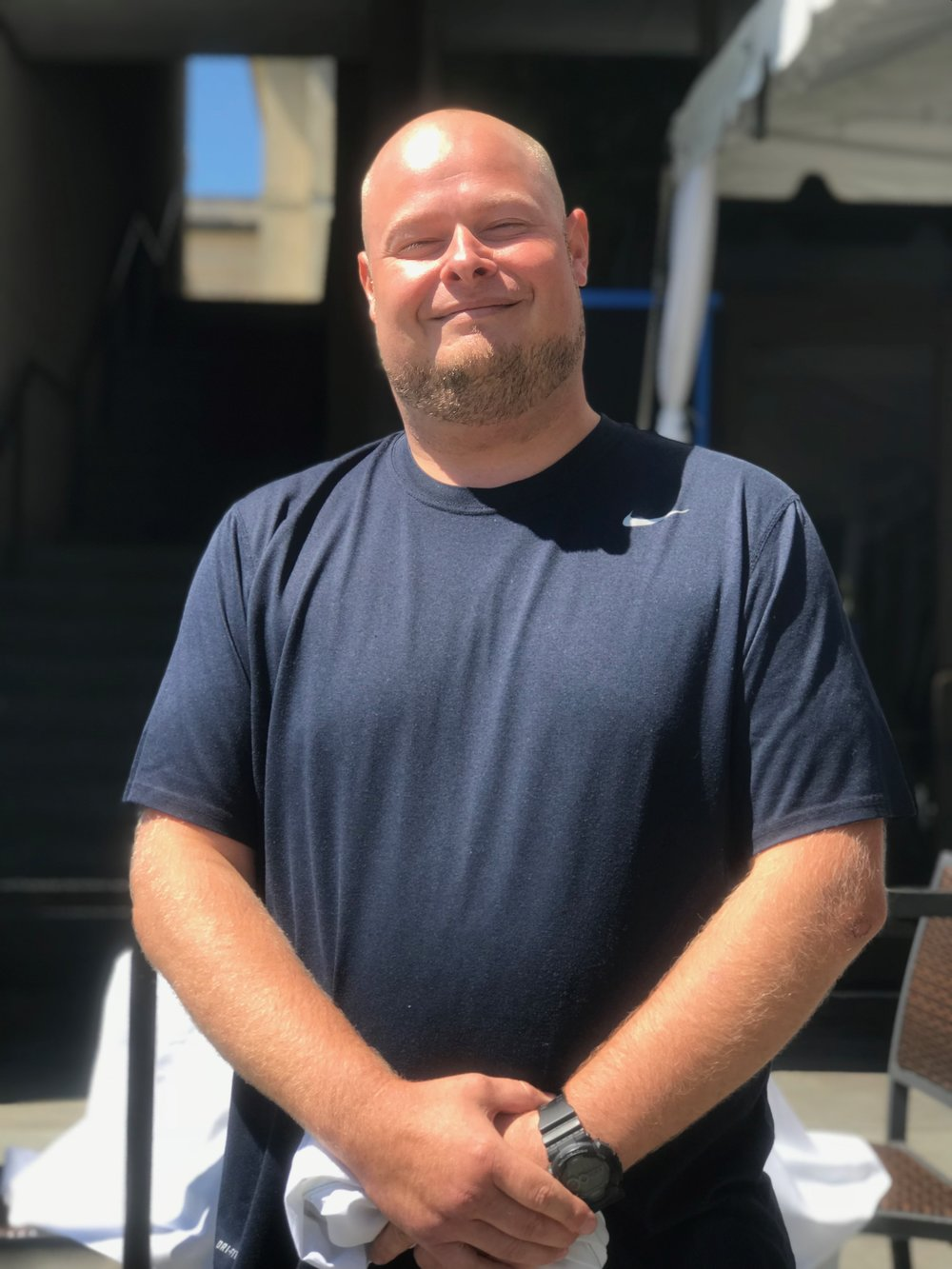 Ed Knott, Chef De Partie/ Sous Chef  Born and Raised in Maryland, Ed has been a part of the Gertrude's Family for over a decade. Before he came to Gertrude's Ed honed his skills at many of Baltimore's iconic restaurants such as Joy America, Sisson's, Porter's and The Rusty Scupper.