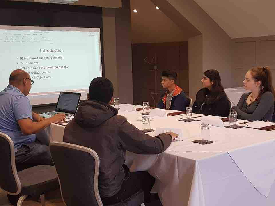 Small Group Training in Manchester with Dr Khan - we do all our training in person!