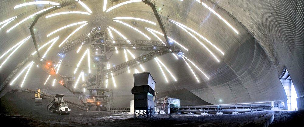 122m span JEA Power Plant. Jacksonville, Florida.