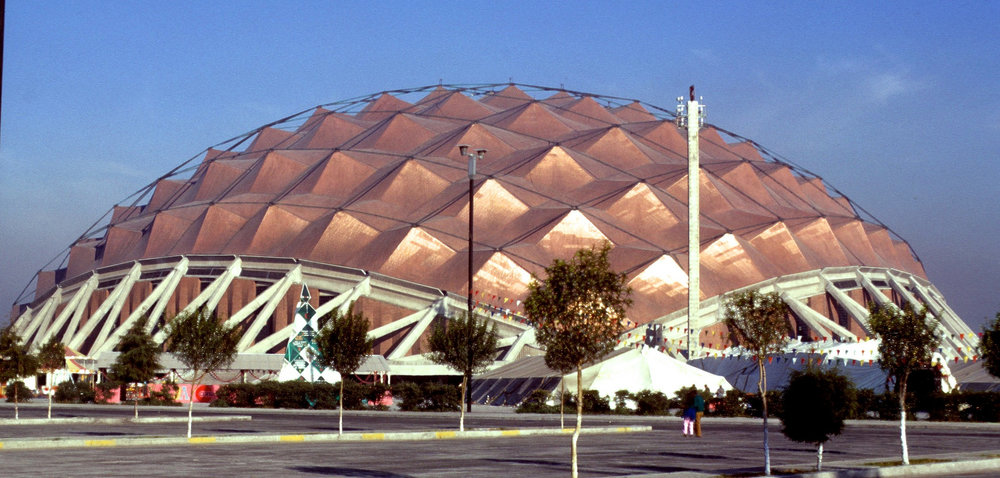 Sports Palace for Mexico City Olympics