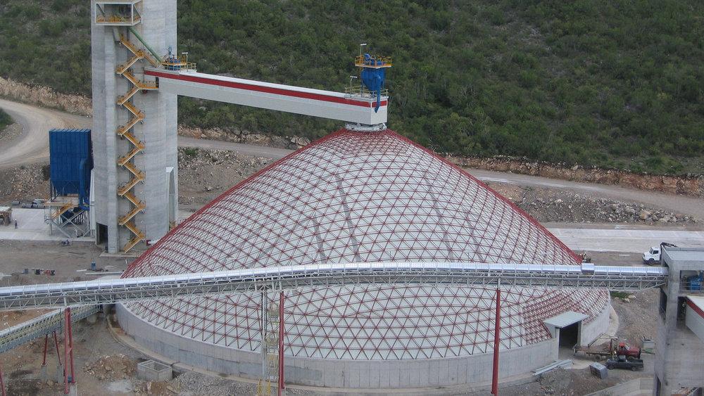 Ore Dome, Cananea, Mx