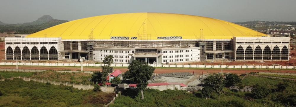 The Glory Sanctuary in Nigeria, soon to be completed, will house over 75,000 people.