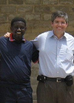 Bishop Charles Agyinasare and Roel Castaño