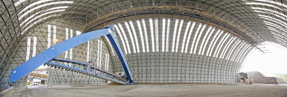 The barrel vault at El Brocal spans 58m