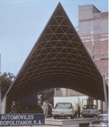 Nostalgic 1960s architecture