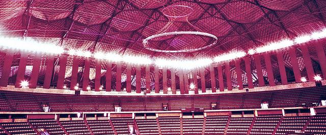 Palacio de los Deportes in Mexico City