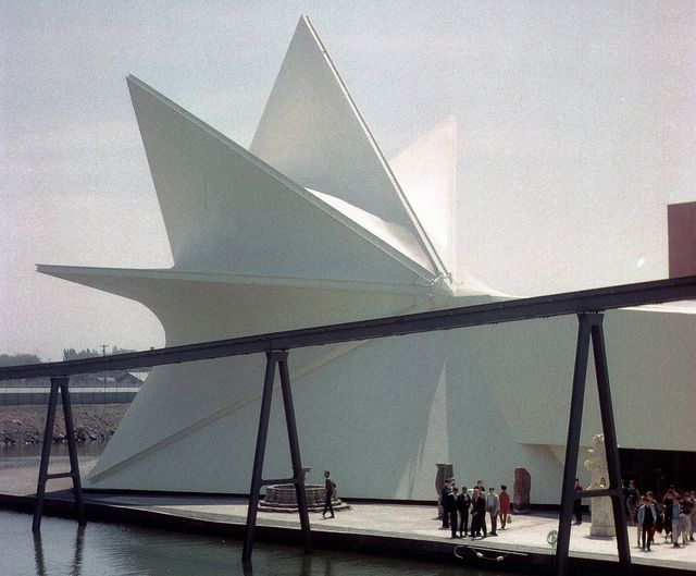 The Mexican Pavillion at Expo '67, Montreal, Canada