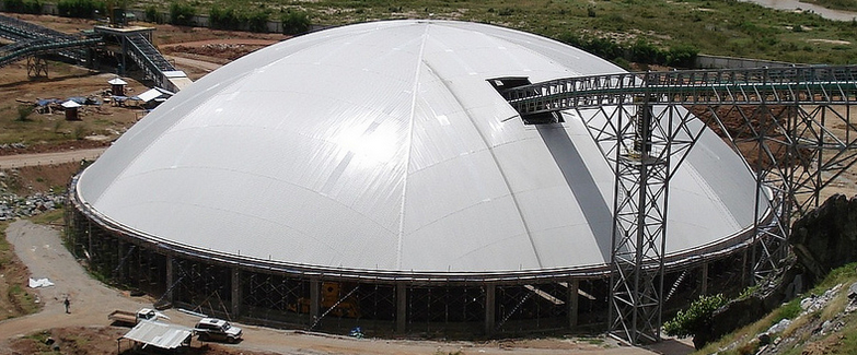 Dome nearly completed