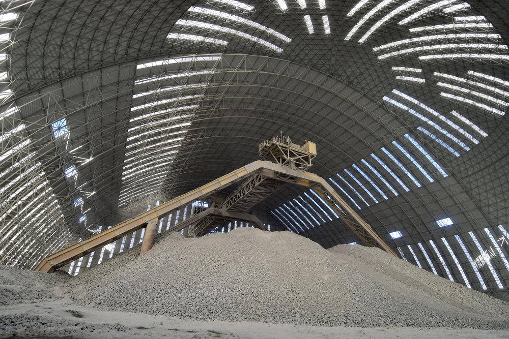 Our barrel vaults start at 40m and can span up to 150m
