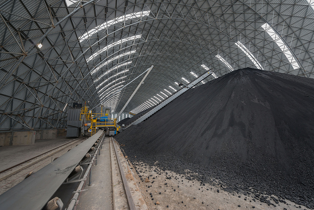 Coal storage, Tunisia