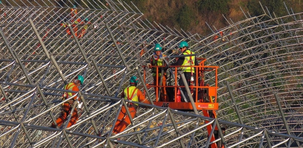 Locally-sourced labor with a perfect safety record