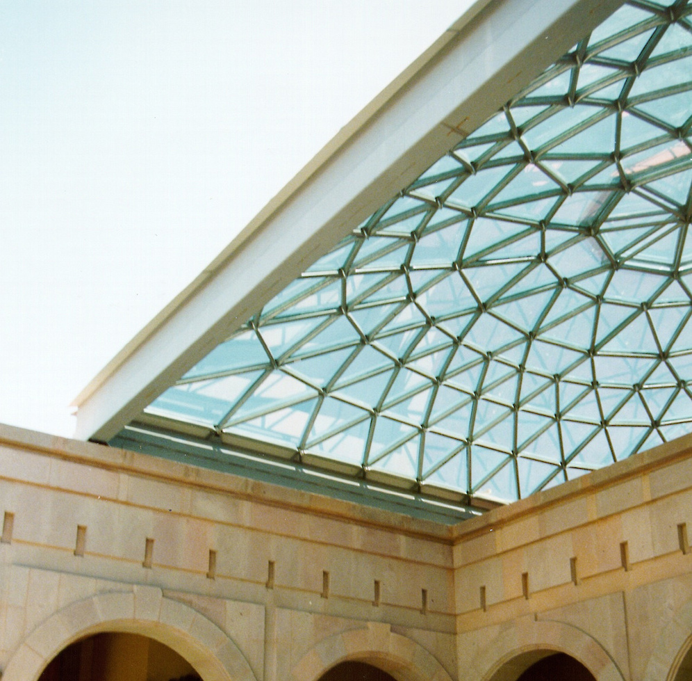 Enjoy perfect weather with a retractable skylight over a terrace