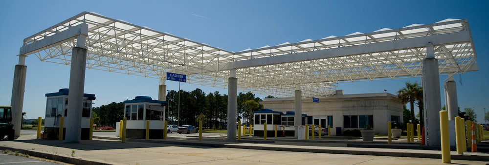 Light and airy - an appropriate aesthetic for the Columbia City Airport (South Carolina, USA)