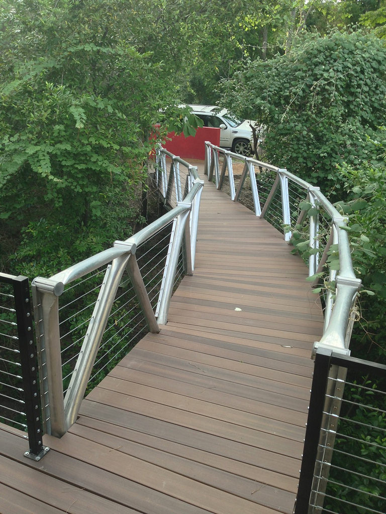 Mallie Court bridge - a beautiful new pathway across a ravine