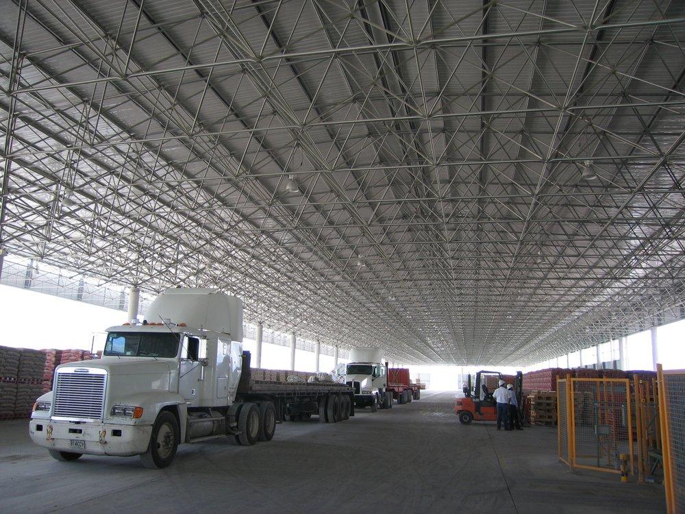 Moctezuma pallet handling facility, 36m span