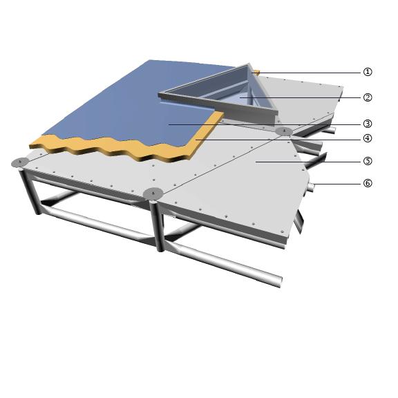 Triangular Panel Skylight