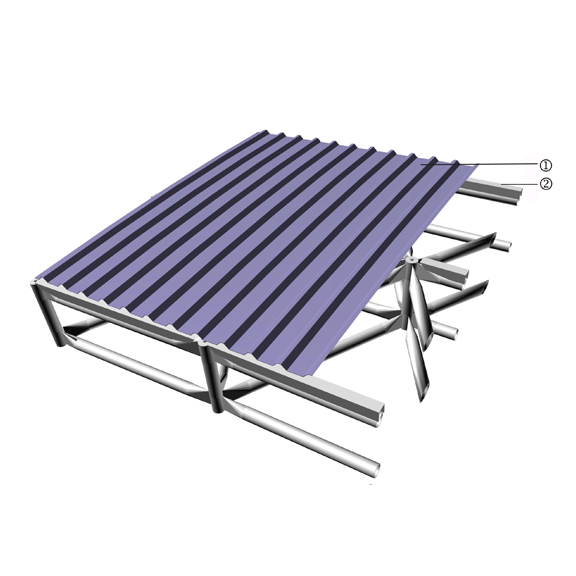 Single Skin Metal Deck