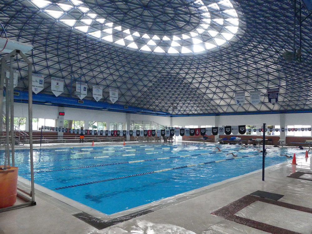 ITESM training pool in Monterrey, Mexico.