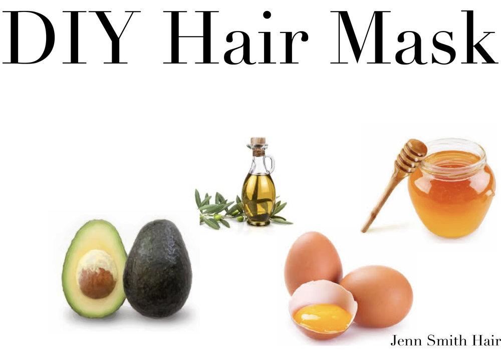 Diy Hair Mask Haircare Jenn Smith Hair