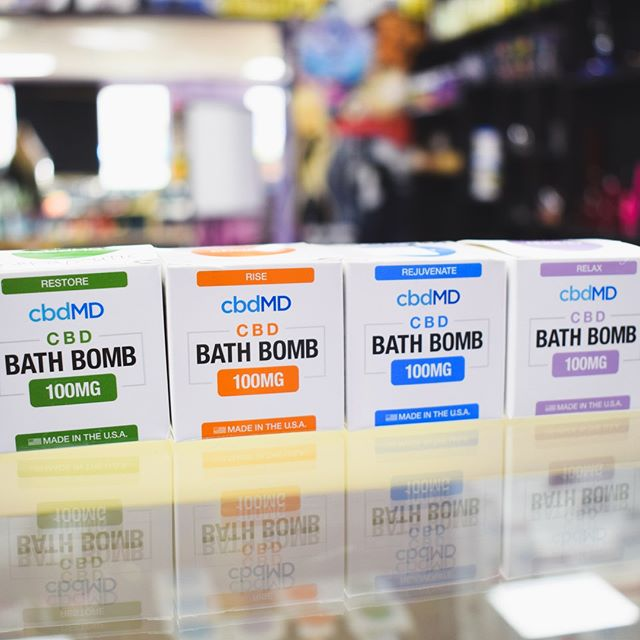 CBD bath bombs! Could make for a nice gift for the upcoming holidays ;)