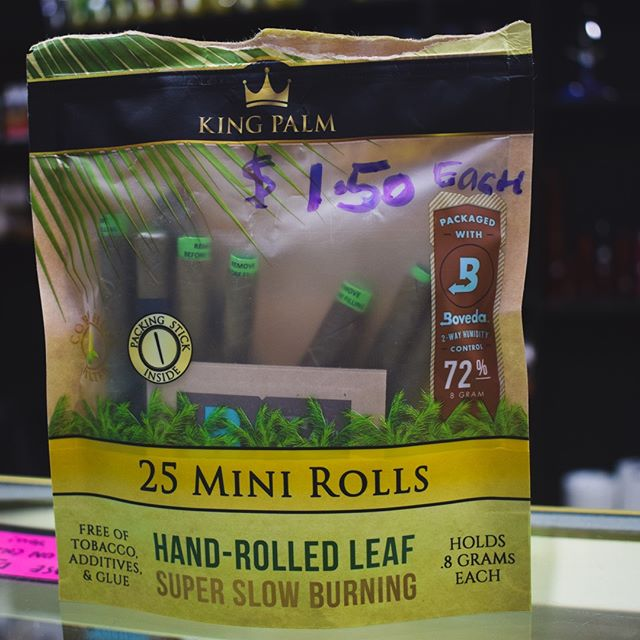 Hand rolled leaf wraps. No tobacco, additives, or glue. You may want to give these guys a try!