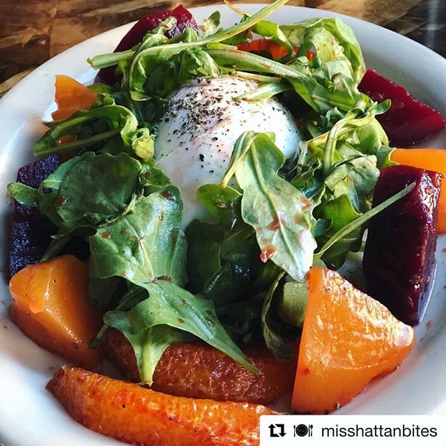 We do more than just pizza! Have you tried this burrata salad yet? We'd describe it as a heavenly heap of arugula, beets, oranges, and the freshest burrata this side of the Hudson. . . . . #burrata #salad #beets #oranges #arugula #fresh #quality #delicious #healthy #omnomnom #ig #instasalad #instafood #instayum #instadish #nycfood #nyceats #nycsalad #nyc #food #bsquared