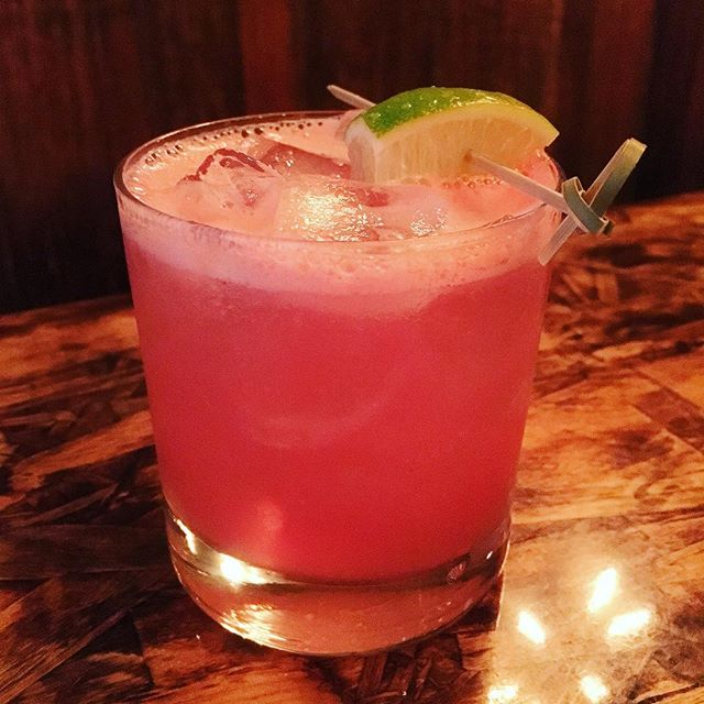 Spicy watermelon margarita. You feelin the heat yet? 🔥 🍉 . . . . #spicy #watermelon #margarita #tequila #tequilatime #heat #summer #summerheat #hot #hothothot #nycdrinks #nyc #drinks #alcohol #ig #instadrinks #instagood #instafood #omnomnom #spicy #bsquared