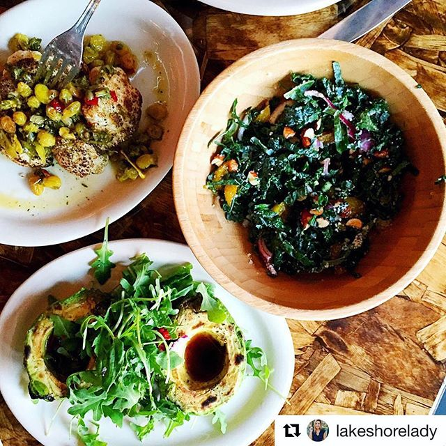 Our pizza is to die for, don't get us wrong. But when you're not in the mood for pizza, why not try our roasted cauliflower, black kale salad, or roasted avocado 🤔 . . . #thinkaboutit #healthyfood #healthylifestyle #yum #omnomnom #cauliflower #kale #avocado #ig #instagood #instafood #nyc #nycfood #nycdining #nyceats #bsquared