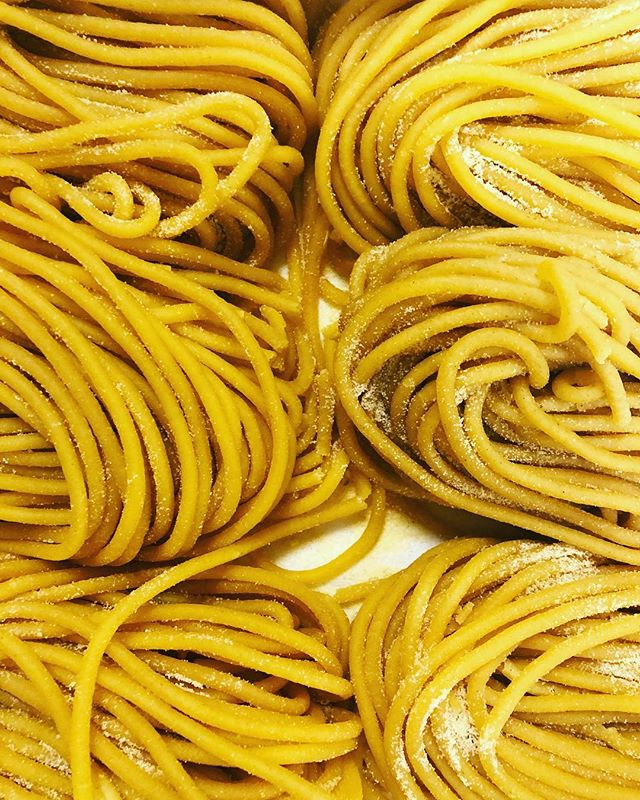 This is as close as you can get to our homemade pasta without getting your eyes saucy 🍝 👀 . . . #homemade #pasta #homemadepasta #delicious #ig #omnomnom #yum #instafood #instagood #instayum #nyc #nycfood #nycrestaurant #nycpasta #bsquared