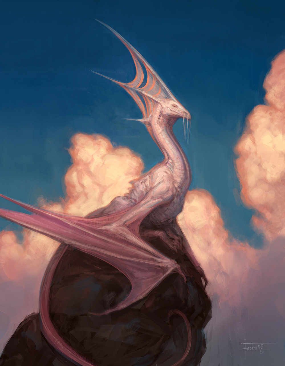 Cloud Dragon final image