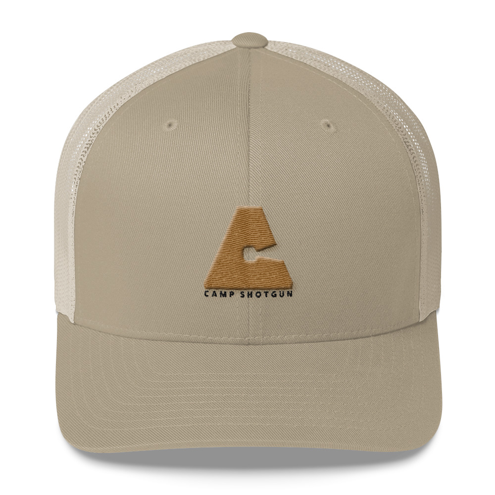 Camp Shotgun Logo Trucker Hat