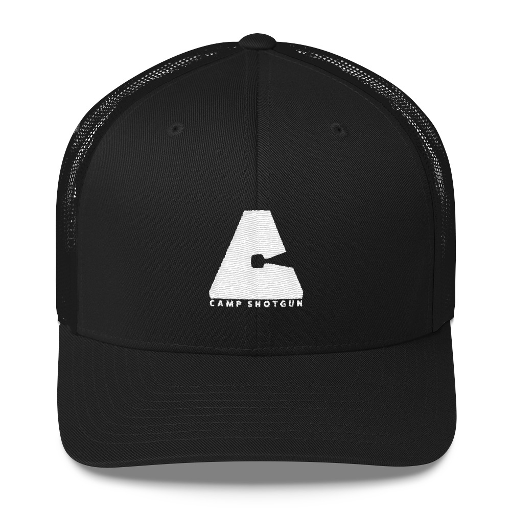 Camp Shotgun One-Color Logo Trucker Hat