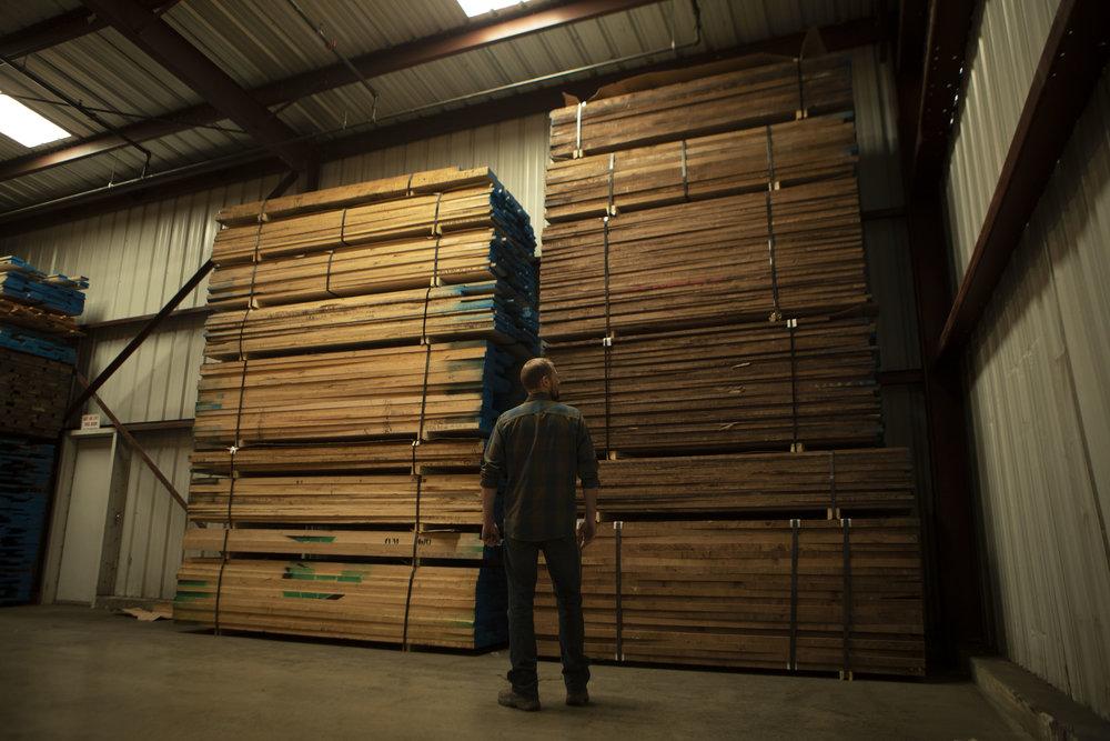 Deep Cut - Wood supply for handmade shelves