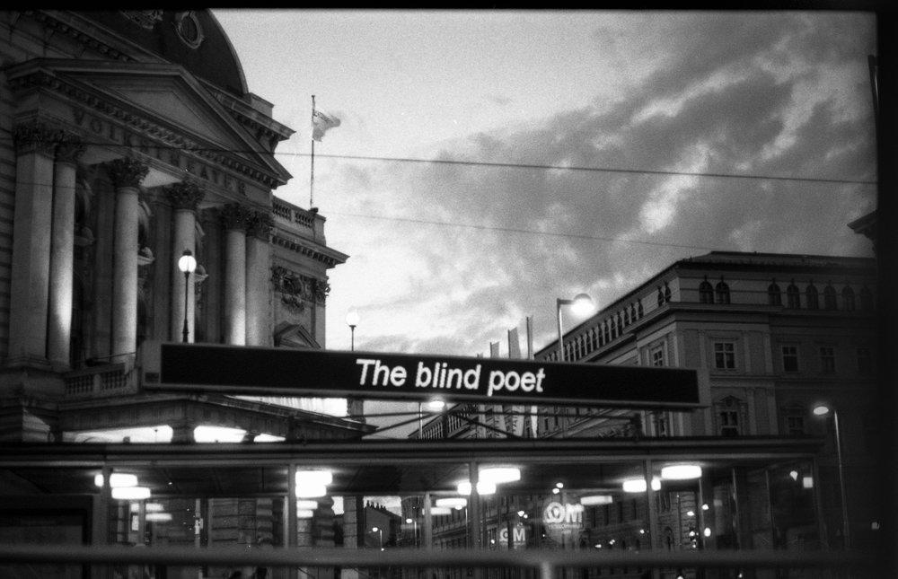 The blind poet (c) Jahan Saber