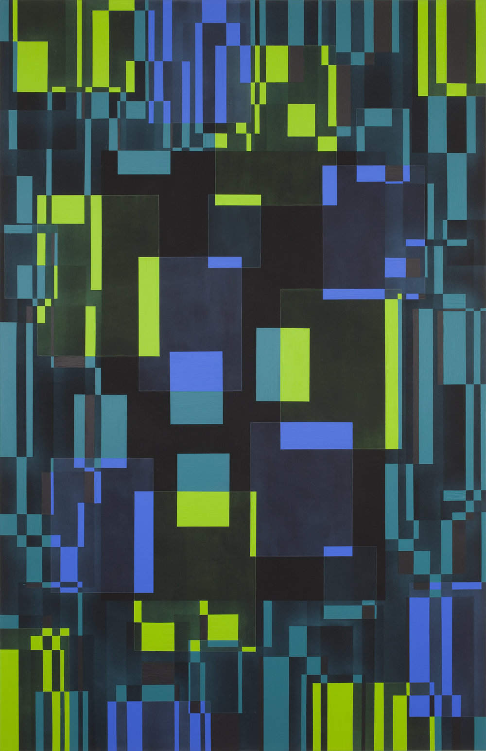 - PRICE: € (EUR) 11.700. Marianne Therese Grønnow. Light. Dusk. Darkness, 2012. Acrylic on canvas. 240 x 140 cm.