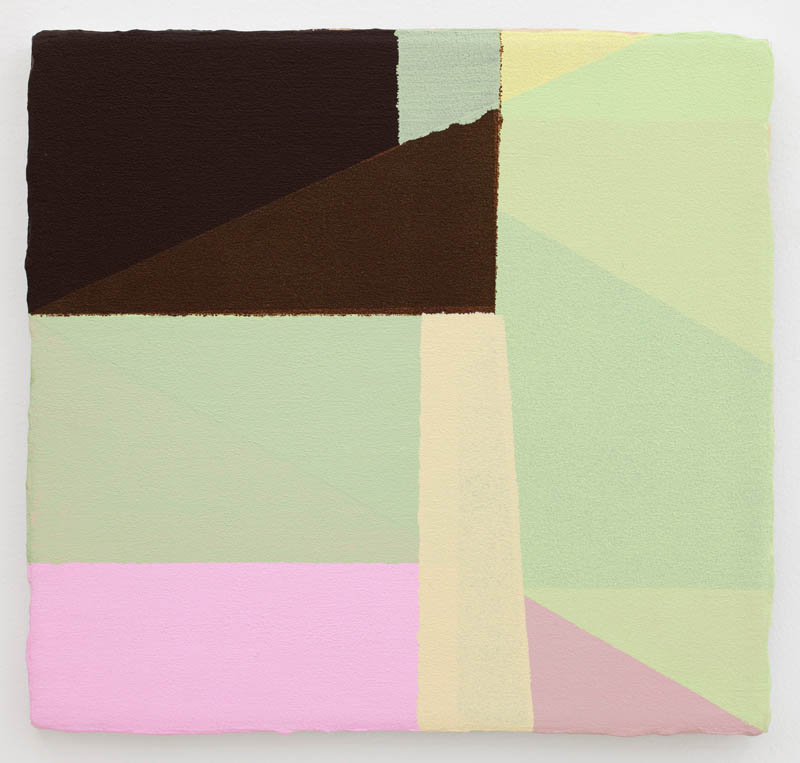 - 34. Bodil Nielsen. Untitled. 2012. Acrylic on canvas. 35 x 35 cm.
