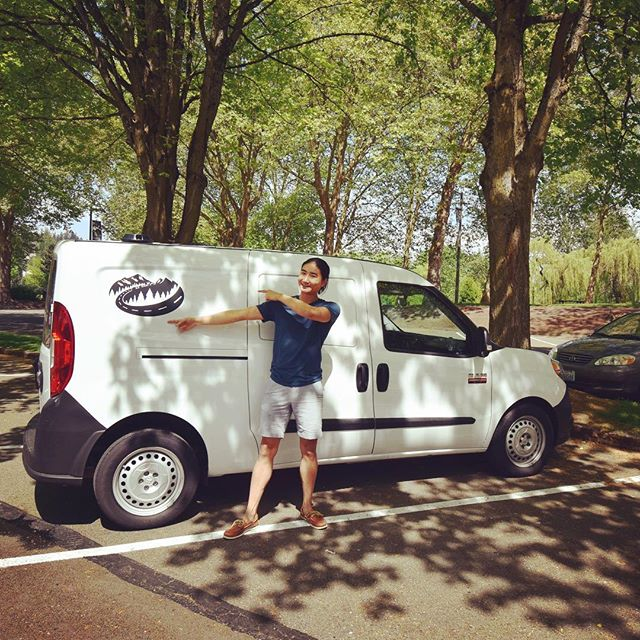 Our friend @chris.topher.li is a proud new owner of a @cascadecampers_ van!! 🎉✨🍾 . . . . . . #cascadecampers #campervan #campervanmagazine #vanlife #pnw #roadtrip #camping #sleepwherever #travel #vans #optoutside #weekend #pnwonderland #unitedstates #washington #adventure