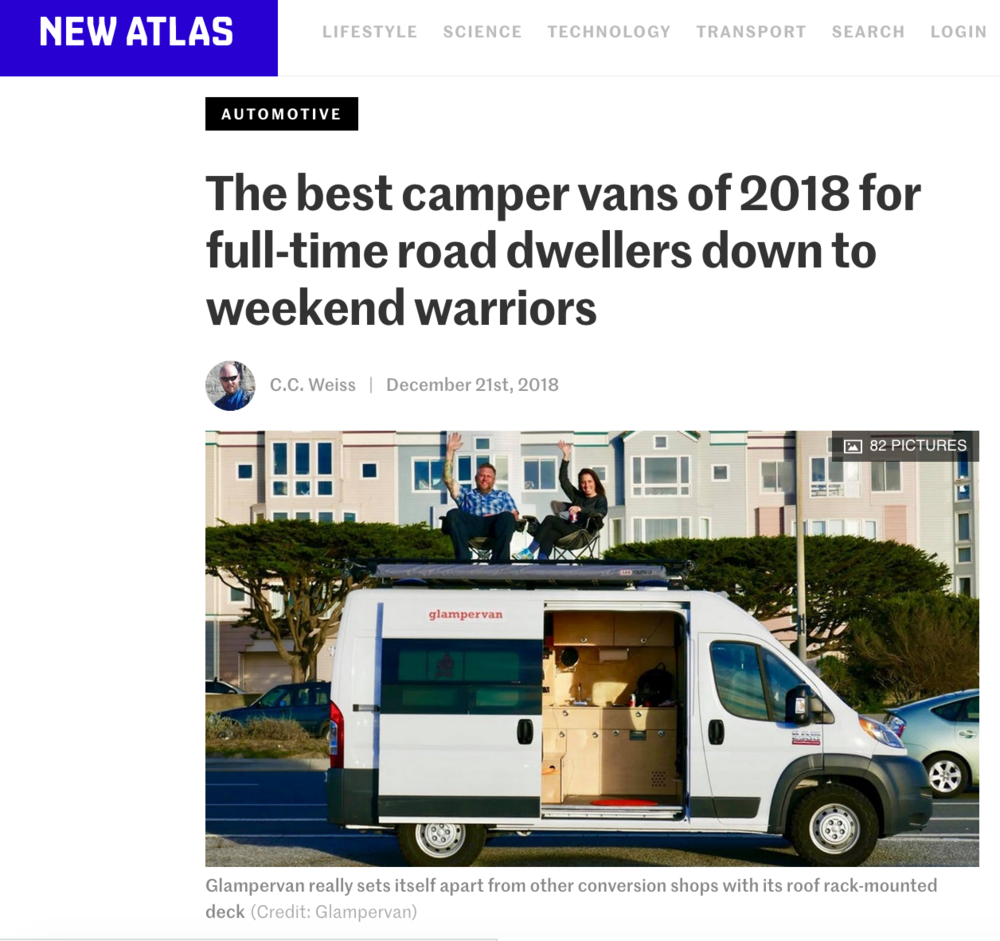 We were featured in this article by  New Atlas  - December 2018