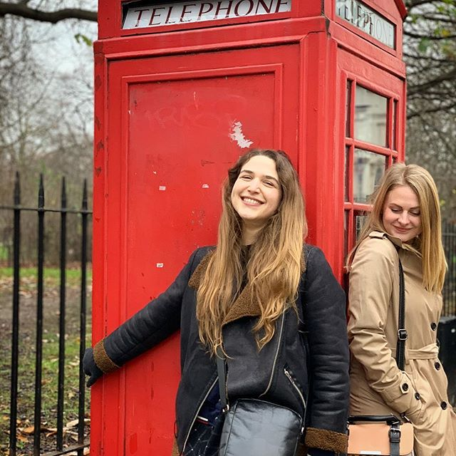 Obligatory phone booth photo .  I took a bit of a hiatus from social media to kick it around the UK with my bestie 🇬🇧 From Toronto to Manchester to London I can honestly say that this ones a keeper, so get ready for the basic girl spam coming at ya 👌