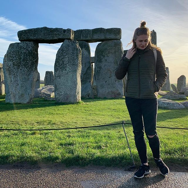 Casually waiting for the stones to take me back to 1775. Or for the aliens to beam me up. I'm cool with either option 😎