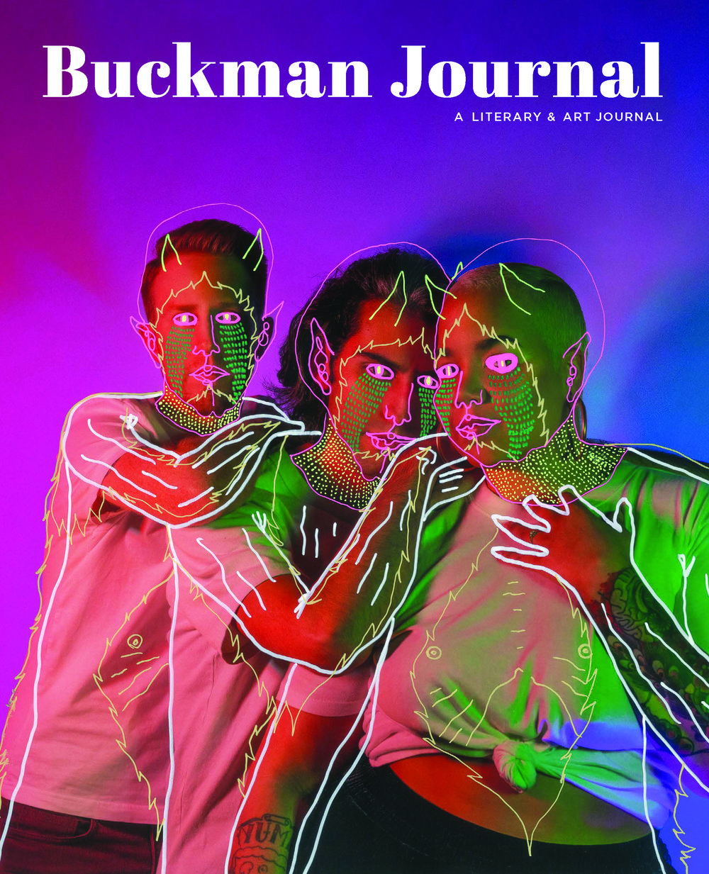 Buckman Journal 002 Launch Party    an art exhibit/meet the writers event    Friday March 8 7p.m    Bunk Bar, SE Water Ave