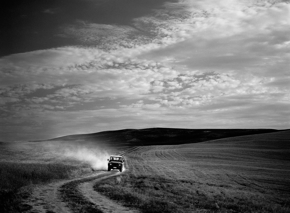 Jeep in Tuscany