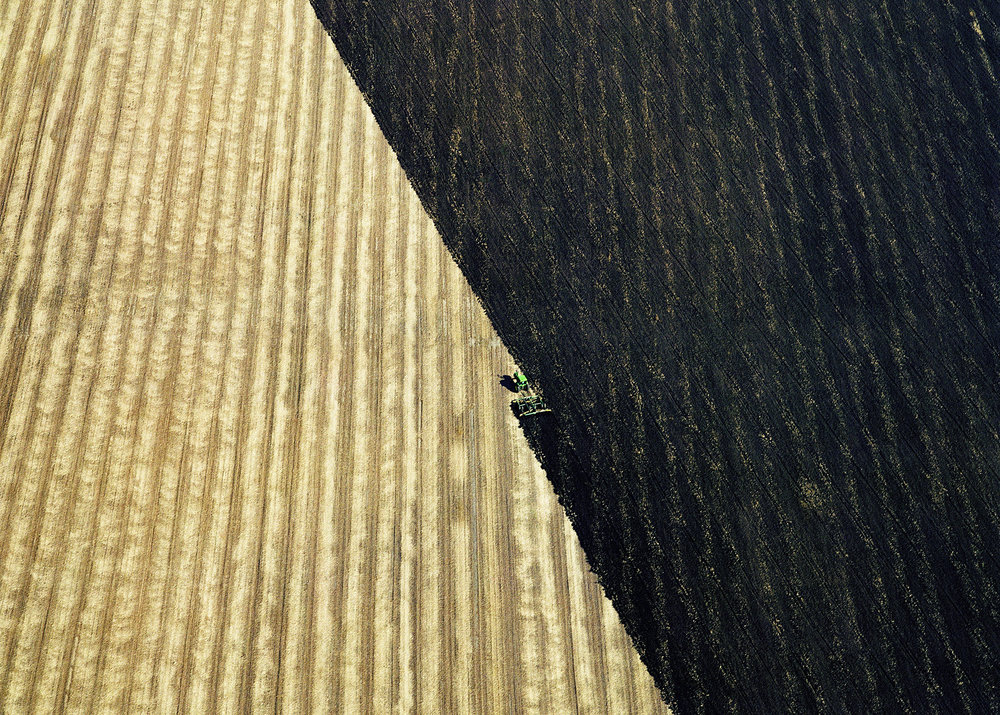 Plowed Fields, near Hannibal, Missouri, 2006