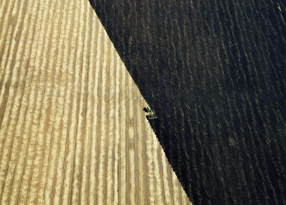 Plowed Fields - near Hannibal, Missouri, USA 2006
