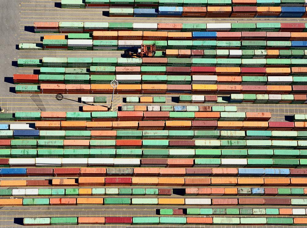 Trailer Yard - Port of Tacoma, WA USA 2006