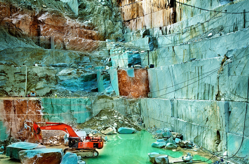 Harvesting Beauty 01 - Marble Quarry, Carrara, Italy