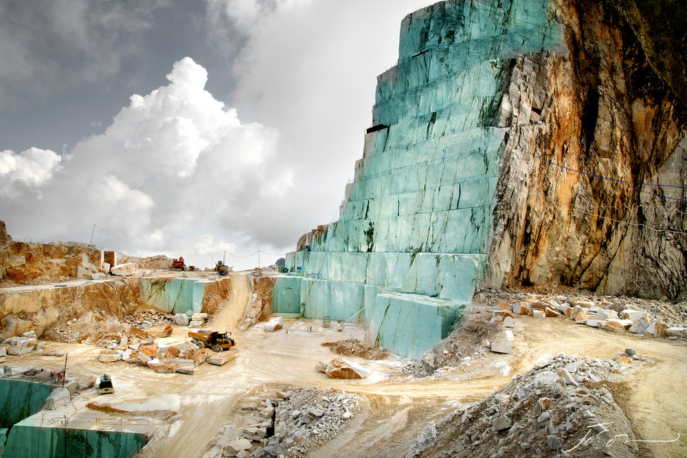 Harvesting Beauty 13 - Marble Quarry, Carrara, Italy